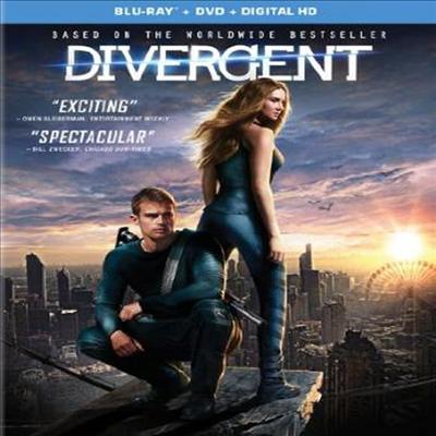 Divergent (다이버전트) (한글무자막)(Blu-ray) (2014)
