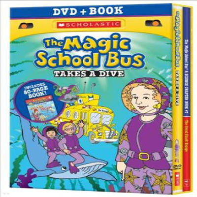 Magic School Bus: Takes a Dive (매직 스쿨 버스 : 테이크스 어 다이브)(지역코드1)(한글무자막)(DVD)