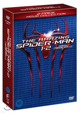 어메이징 스파이더맨 1+2 박스세트 (2Disc)