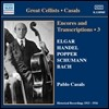 파블로 카잘스 앙코르와 첼로 편곡 3집 (Pablo Casals Encores and Transcriptions Vol. 3)