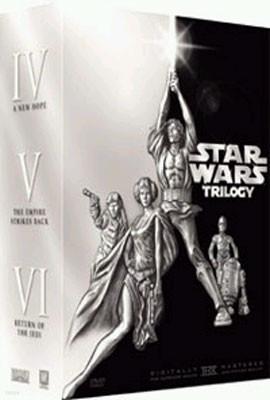 스타워즈 3부작 트릴로지 (에피소드 4,5,6) 박스세트  (4Disc)