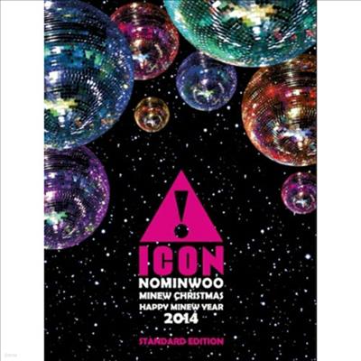 노민우 (Icon) - Minew Christmas Happy Minew Year 2014 (지역코드2)(DVD)