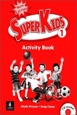 New Super Kids 1 : Activity Book with CD