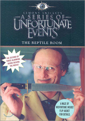 A Series of Unfortunate Events #2 :The Reptile Room (Movie Tie-in Edition)