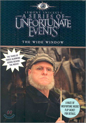 A Series of Unfortunate Events #3 : The Wide Window (Movie Tie-in Edition)