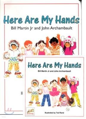 [노부영]Here Are My Hands (Board Book & CD Set)