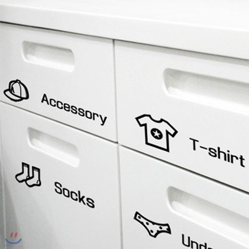 [하이모리] 상상날개 / Life sticker - 수납장 시리즈 [그래픽스티커/디자인스티커]