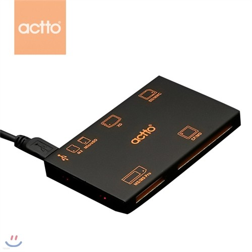 ACTTO/엑토 초콜릿 카드리더기 CRD-14 [0154039404]