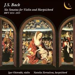 Bach : Sonata for Violin and Harpsichord : OistrakhㆍZertsalova