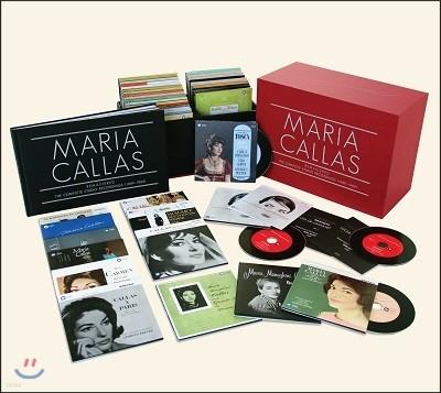 마리아 칼라스 스튜디오 레코딩 전집 (Maria Callas Remastered The Complete Studio Recordings 1949-1969)