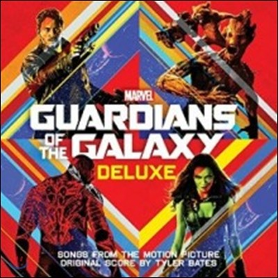 가디언즈 오브 갤럭시 1 영화음악 (Guardians Of The Galaxy 1 OST) [Deluxe Edition]