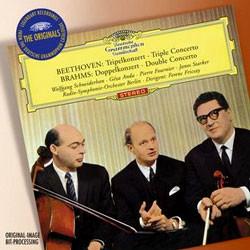 Wolfgang Schneiderhan / Geza Anda / Pierre Fournier 베토벤: 삼중 협주곡 / 브람스: 이중 협주곡 (Beethoven: Triple Concerto / Brahms: Double Concerto)
