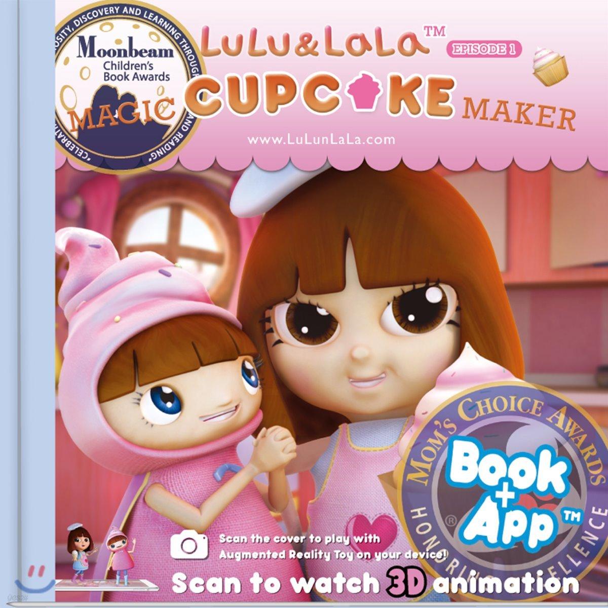(AR scanning) LuLu & LaLa #1 : Magic Cupcake Maker