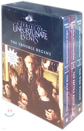A Series of Unfortunate Events : The Trouble begins - 1~3권