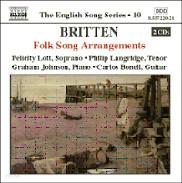 Felicity Lott / Graham Johnson 브리튼: 민요 편곡 1집 (Britten: Folk Song Arrangements 1)