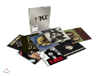 T.Rex - The Vinyl Collection (Limited Box Set) (티렉스 LP 박스 세트)
