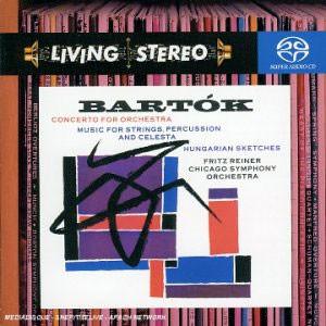 바르톡 : 관현악을 위한 협주곡 - 프리츠 라이너 (SACD)