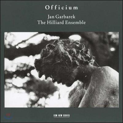 Jan Garbarek / The Hilliard Ensemble - Officium Novum 힐리어드 앙상블, 얀 가바렉, 오피시움 [2LP]