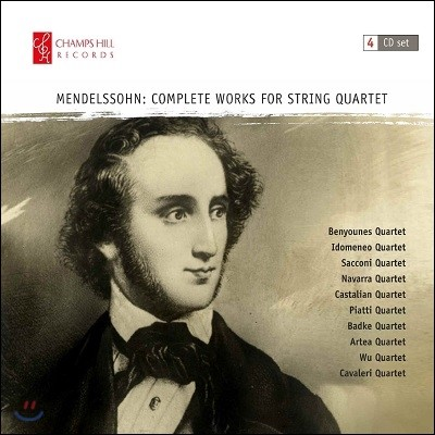 멘델스존 현악사중주 작품 전곡집 (Mendelssohn: Complete Works for String Quartet)