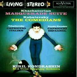 Kirill Kondrashin 하차투리안: 가장 무도회 / 차이코프스키: 이탈리안 기상곡 (Khachaturian: Masquerade Suite / Tchaikovsky: Capriccio italien) 키릴 콘드라신