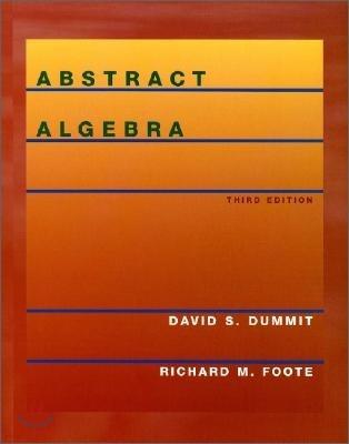 Abstract Algebra, 3/E
