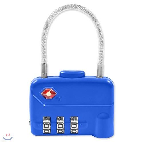 [BEAT] TSA 3중번호 와이어 자물쇠 CLUTCH