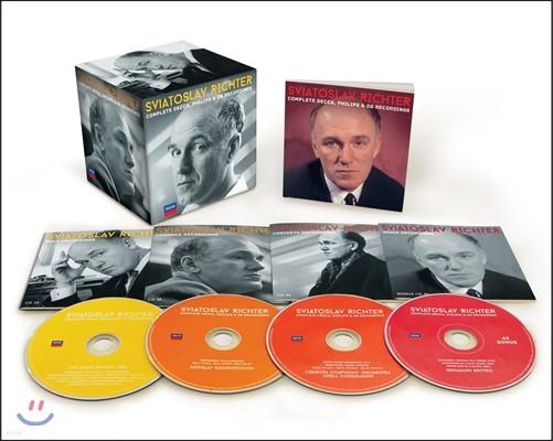 Sviatoslav Richter 스비아토슬라브 리히터 DG, DECCA, Philips 전집 [한정반] (Complete Decca, Philips & DG Recordings)