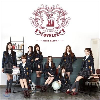 러블리즈 (Lovelyz) 1집 - Girls' Invasion