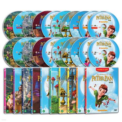 The new adventures of PETERPAN 피터팬 20종세트 (DVD 10종+오디오CD 10종)