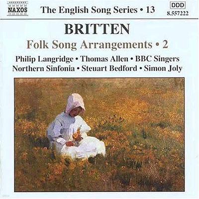 Philip Langridge 브리튼: 민요 편곡 2집 (Britten: Folk Song Arrangements 2)