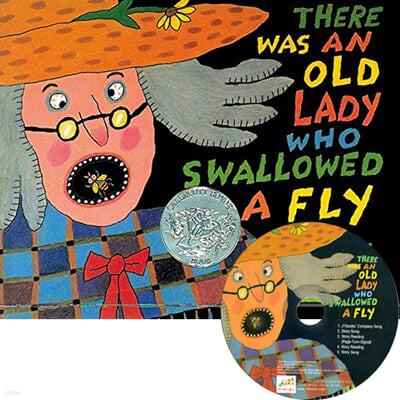 [노부영] There Was an Old Lady Who Swallowed a Fly (Paperback & CD Set)
