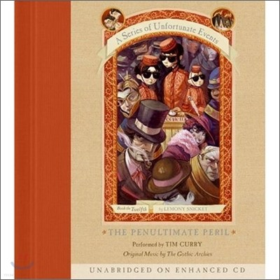 A Series of Unfortunate Events #12 The Penultimate Peril : Audio CD