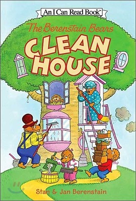[I Can Read] Level 1 : The Berenstain Bears Clean House