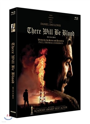 데어 윌 비 블러드 : 블루레이+DVD (양장 패키지 콤보팩 2Disc, 700장 한정판)
