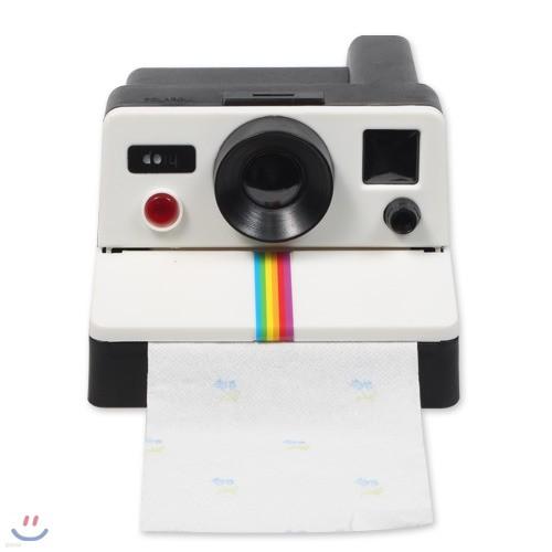 카페 인테리어 소품 카메라 두루마리 휴지케이스 폴라롤