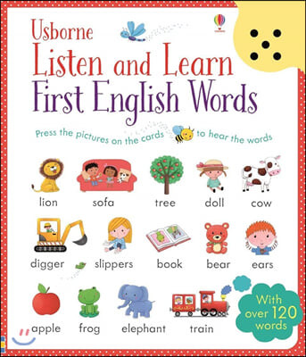 Usborne Listen and Learn : First English Words 어스본 사운드북