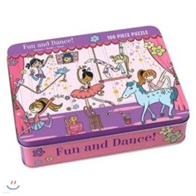 Fun and Dance! 100 Piece Puzzle