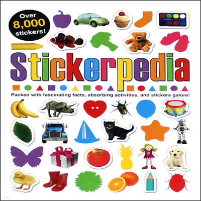 [스크래치 특가]Stickerpedia: Packed with Fascinating Facts, Absorbing Activities and Over 8000 Stickers!