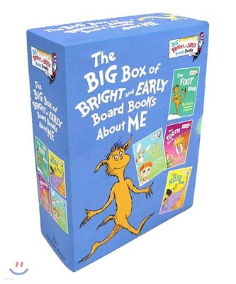 The Big Box of Bright and Early Board Books About Me 닥터수스 3종 + 앨 퍼킨스 1종 세트