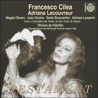 Magda Olivero 칠레아: 아드리아나 르쾨브뢰르 (Cilea: Adriana Lecouvreur)
