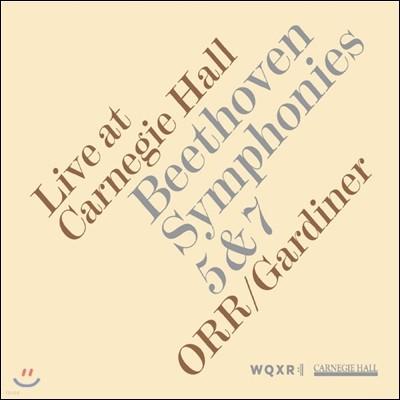 John Eliot Gardiner 베토벤: 교향곡 5번, 7번 (Beethoven: Symphonies Op.92, Op.67) 존 엘리엇 가디너