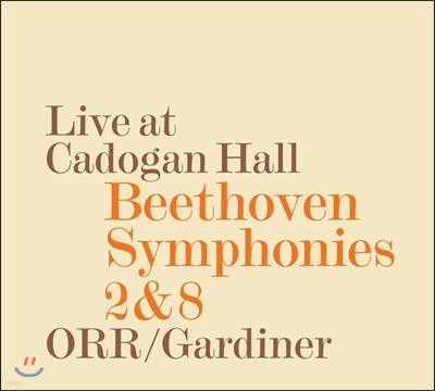 John Eliot Gardiner 베토벤: 교향곡 2번, 8번 (Beethoven: Symphonies Op.36, Op.93) 존 엘리엇 가디너