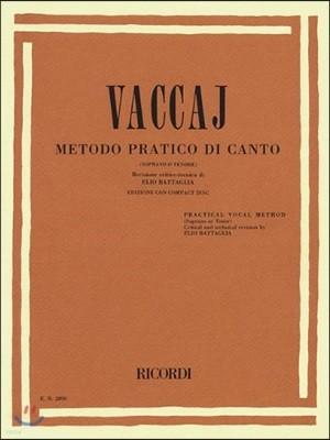 Vaccaj metodo pratico di canto / Vaccai Practical Vocal Method - High Voice