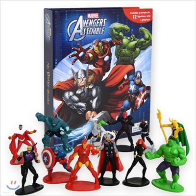 Avengers Assemble My Busy Book 어벤저스 비지북
