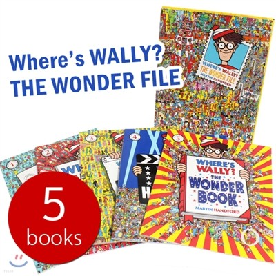 Whers's WALLY? The Wonder File (5 Books)