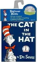 The Cat In The Hat (Paperback & CD Set)