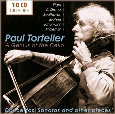 Paul Tortelier 폴 토르틀리에 녹음집 (A Genius of the Cello)