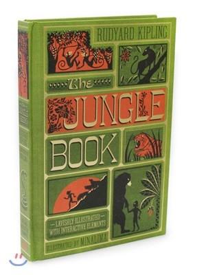 The Jungle Book : 정글북 일러스트 플랩북