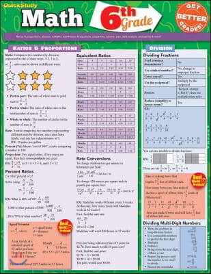 Math, 6th Grade