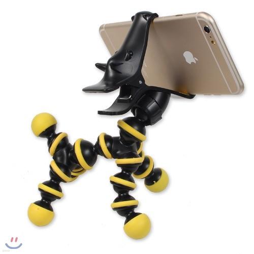 아이폰6 갤럭시노트4 인테리어 소품 관절형 스마트폰 유니콘 거치대